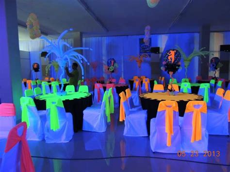 quinceanera themes glow in the dark glow in the dark decor glow in the dark party pinterest