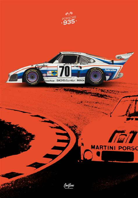 porsche racing poster porsche 935 2 poster vertical car bone pl