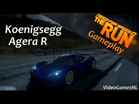 koenigsegg agera r need for speed rivals need for speed the run koenigsegg agera r gameplay
