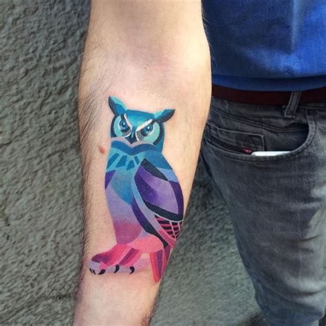 unisex tattoos these watercolor tattoos by unisex will make you