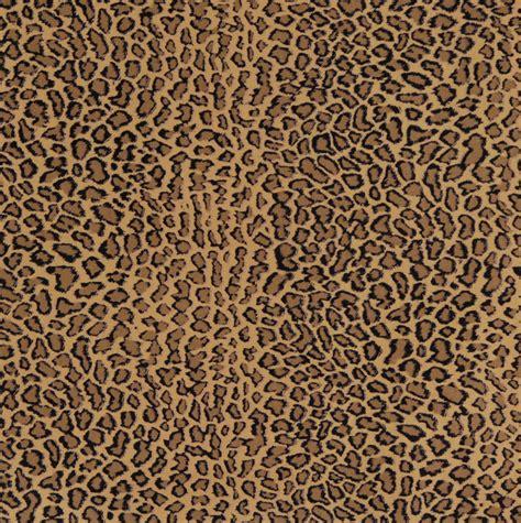 Printable Upholstery Fabric | beige brown and black jaguar faux animal print microfiber