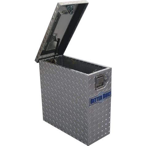 better built wheel well tool box with drawers better built tower truck tool box diamond plate aluminum