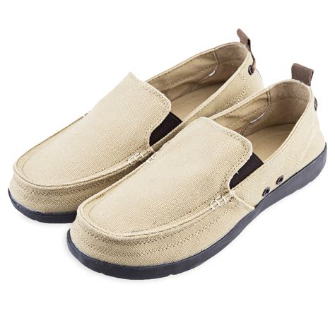mens loafers fashion fashion mens canvas slip on loafers moccasin casual flats