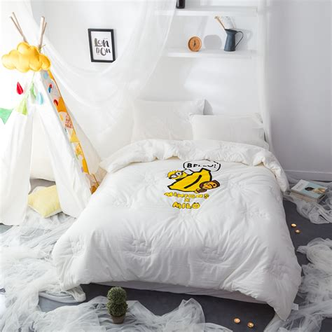 cheap white comforter online buy wholesale white microfiber comforter from china