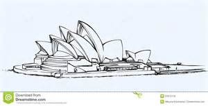 Side view of iconic symbol sidney opera house performing centre with
