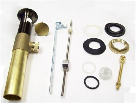 Phylrich Faucet Parts by Phylrich Ld499p 47 Complete Drain Set Less Pop Up Knob And