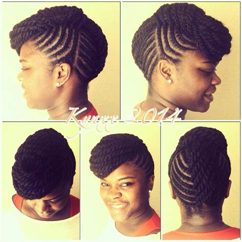 Twist Up Hairstyles by Flat Twist Up Do Hair Fros Locs And Braids