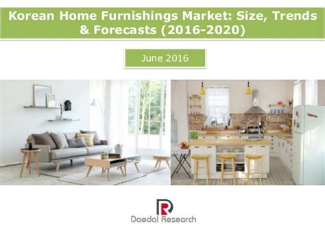 korean home furnishings market size trends forecasts