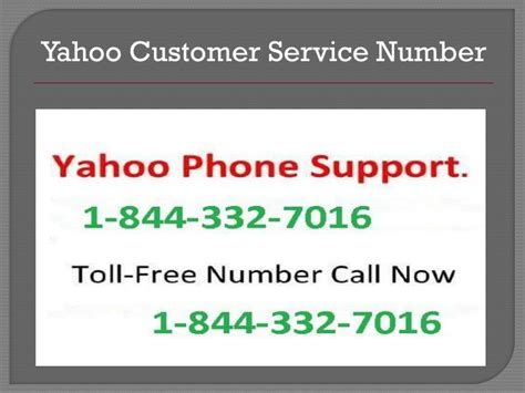 email yahoo customer service ppt yahoo technical support1 844 332 7016 for yahoo