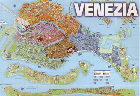 venice italy map the world in postcards sabine s venice map italy