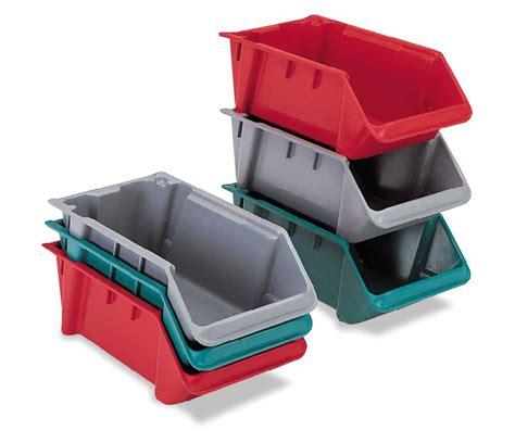 organization bins sh1811 7psm lewisbins plastic storage hopper front bins