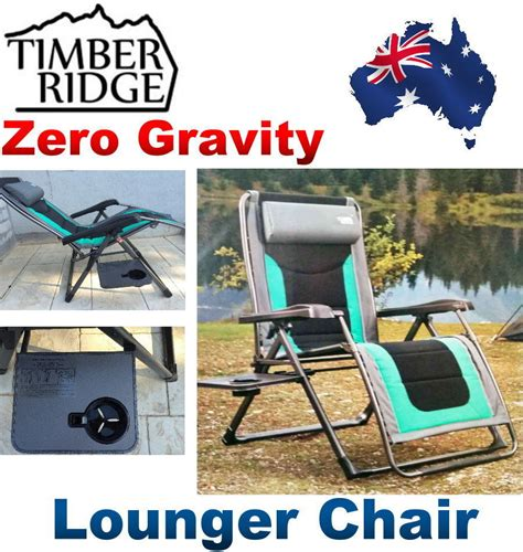 timber ridge zero gravity chair with side table timber ridge zero gravity lounge chair with side table