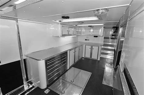 Cer Trailer Interior Ideas by Race Trailer Interior Options Gallery Middlebury Trailers