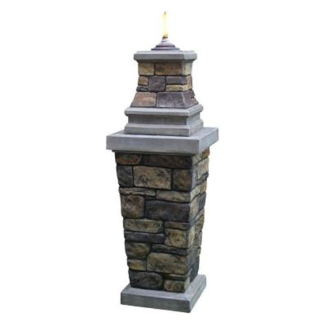 citronella pillar torch 69855 the home depot