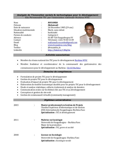 ict business analyst cv sles ict for development ict4d analyst cv
