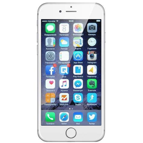 Iphone 6 16gb Silver apple iphone 6 16gb silver купить в интернет магазине цены отзывы фото характеристики
