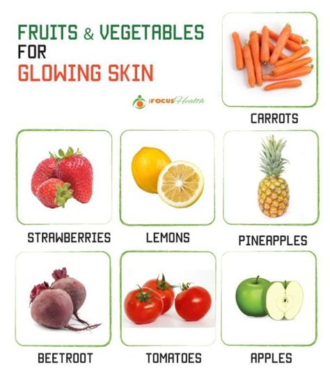 vegetables for skin fruits and veggies that can help you a beautiful skin