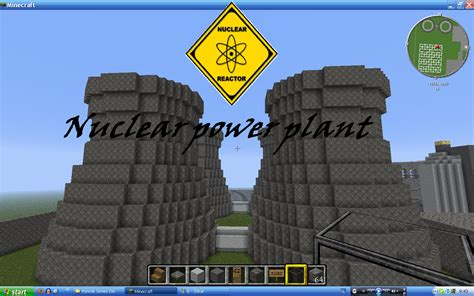 Build My Room the nuclear power plant minecraft project