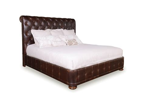 Upholstered Bedroom Furniture Whiskey Oak Rustic Inspired Upholstered Bedroom Furniture Set 205000