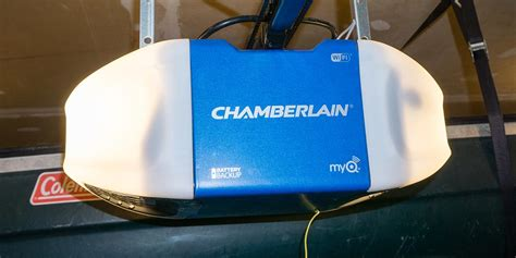 reliable garage door reviews chamberlain wi fi garage door opener review operate and