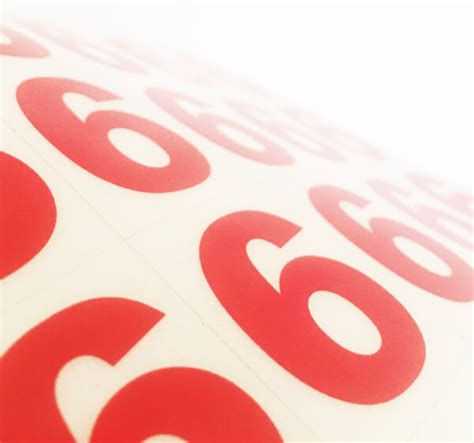 printable reflective stickers vinyl reflective stickers sequential numbering