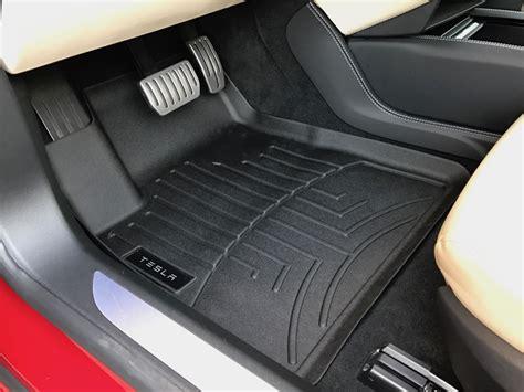 Tesla All Weather Floor Mats Tesla Model S All Weather Floor Mats Meze