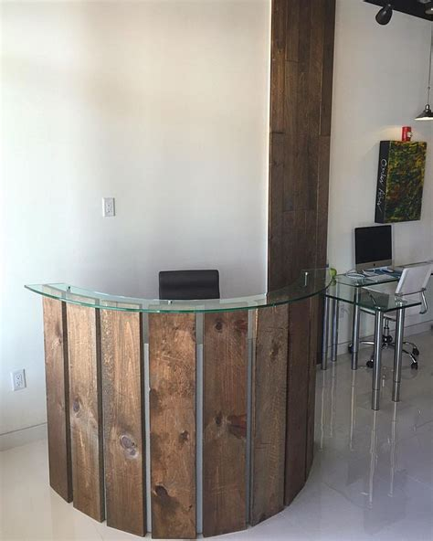 Curved Reception Desk Best Curved Reception Desk Ideas On Curved Desk Reception Table