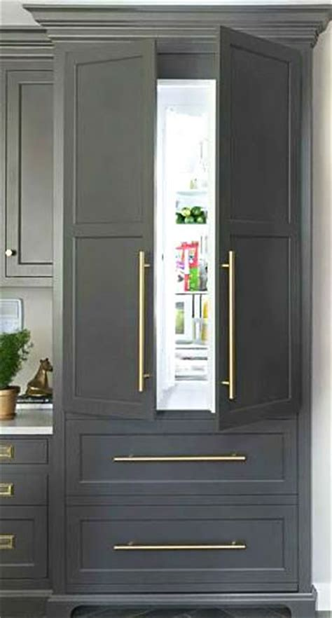 refrigerator that looks like a cabinet 4 of this year s hottest kitchen trends cabinet fronts
