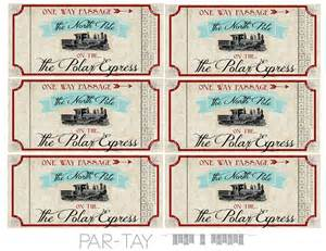 polar express ticket template polar express ticket template www imgkid the image