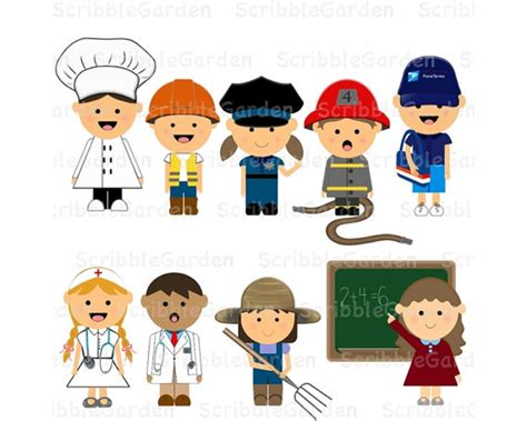 one helpers community workers clipart clipart collection community