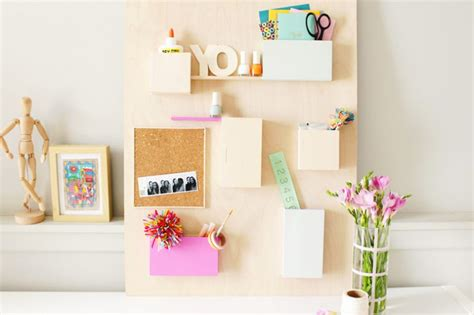 Diy Deco Murale Shake My Blog Bureau Diy