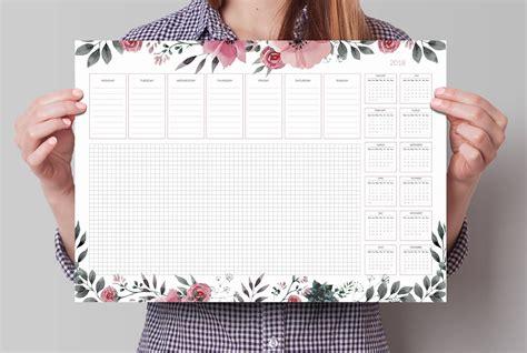 Calendar 2018 A3 Desk Calendar 2018 A3 Desk Pad Large Beautiful Weekly