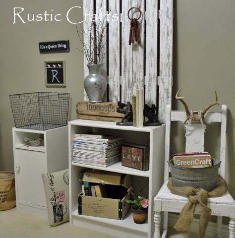 decorate a home office shabby chic style rustic crafts