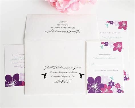 Addressing Wedding Invitations With Guest