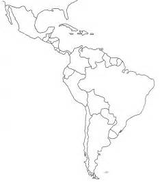 south and central america blank map america map template america outline map