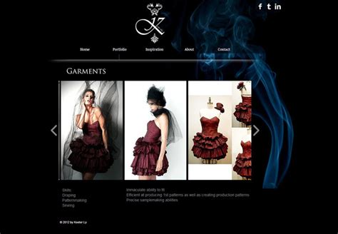 design clothes web 18 beautiful fashion websites created with wix