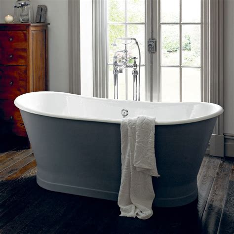 heritage madeira double ended cast iron bath victorian