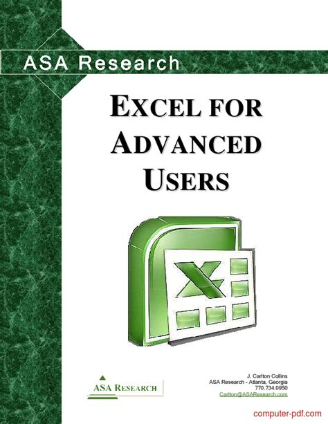 excel  users  tutorial  advanced