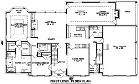 3500 sq ft house southern style house plan 3 beds 3 50 baths 3500 sq ft