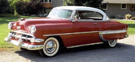 1954 chevy bel air hard top 1954 chevrolet bel air 2 door hardtop 18666