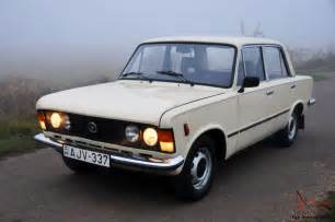 soviet era classic 1988 polski fiat 125p sedan high