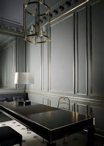 gray paneling grey painted wall panels love gray pinterest