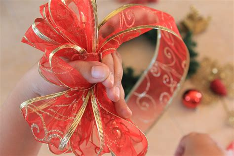 how to make a christmas bow marryl crafts