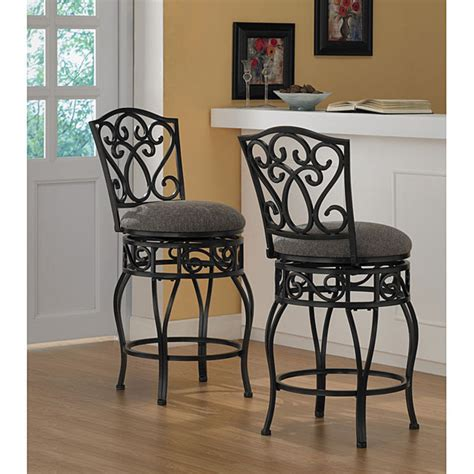 Overstock Kitchen Islands by Chase 24 Inch Swivel Counter Stools Set Of 2 Design