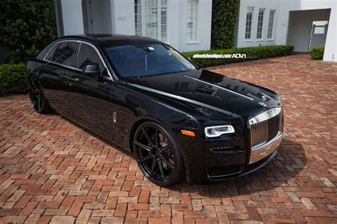 customized rolls royce rolls royce ghost adv08 m v1 sl ppg wheels adv 1 wheels