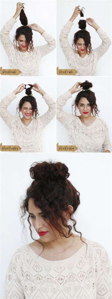 is it possibleto leave some hair out with crochet braids 25 best ideas about messy curly bun on pinterest curly
