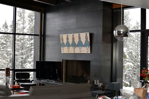 Clad Fireplace by Antler Furniture Functional Works Of
