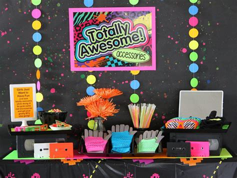 80s party decorations adult 80 s party pinterest 80s party ideas kids party ideas at birthday in a box