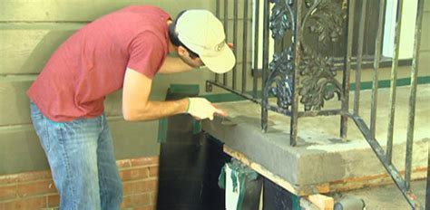 how to fix a sinking front porch how to repair and resurface concrete steps today s homeowner