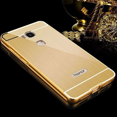 Metal Back Cover Huawei Honor 5x Gr5 Casing Bumper Aluminium Hardcase huawei honor play 5x metal frame back cover protective gold 12607 10 99 smartphone